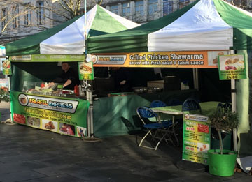 Canopy hire